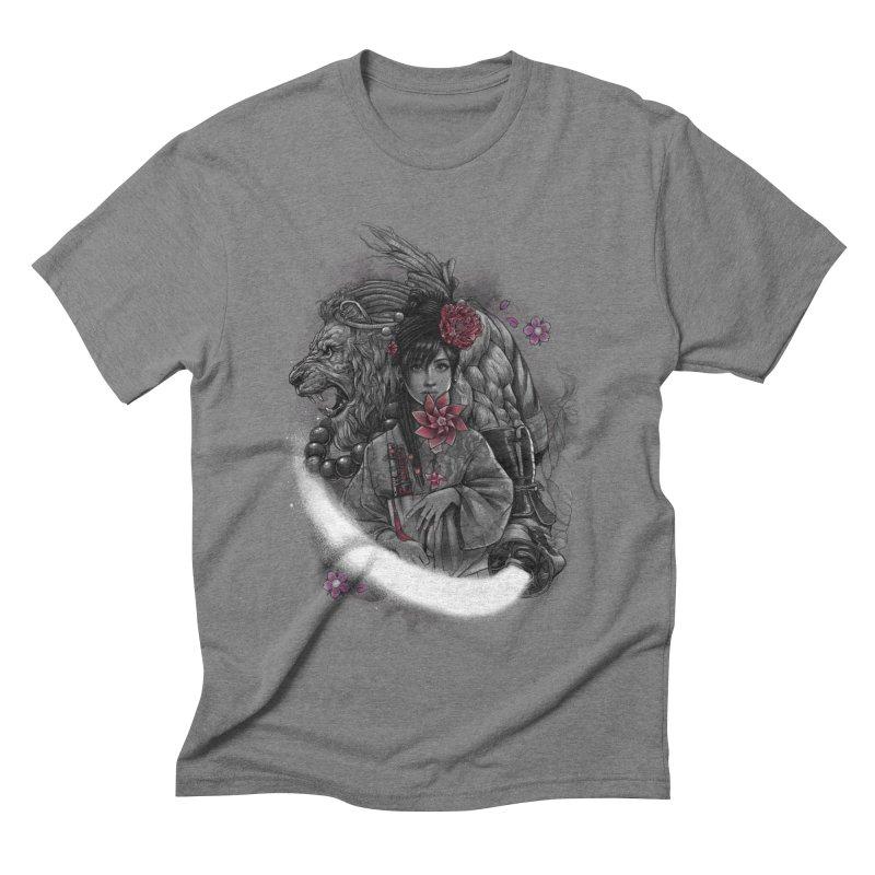 Kaze No Raion Men's Triblend T-Shirt by brunomota's Artist Shop