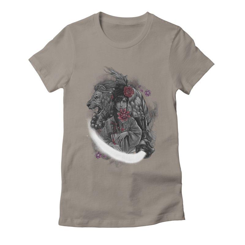 Kaze No Raion Women's Fitted T-Shirt by brunomota's Artist Shop