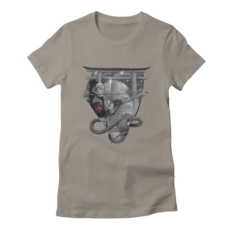 Kyujutsu Women's Fitted T-Shirt by brunomota's Artist Shop