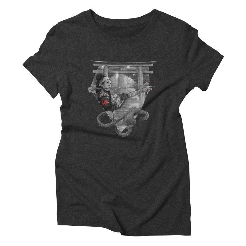 Kyujutsu Women's Triblend T-Shirt by brunomota's Artist Shop