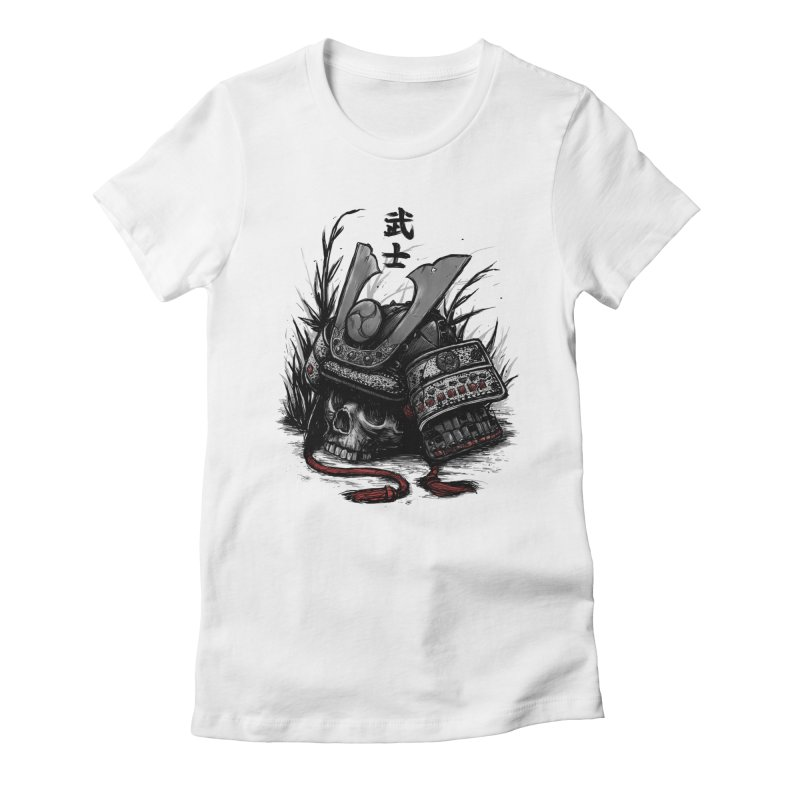 Nokori No Bushi Women's Fitted T-Shirt by brunomota's Artist Shop