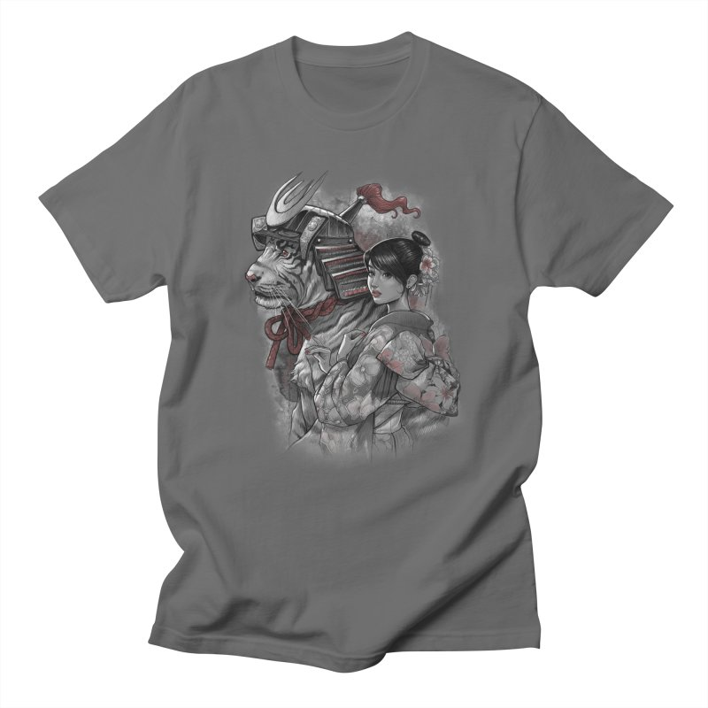 Samurai Tiger Women's Regular Unisex T-Shirt by brunomota's Artist Shop