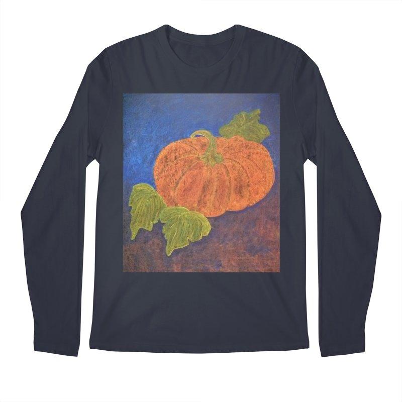 The Cinderella Pumpkin Men's Longsleeve T-Shirt by brusling's Artist Shop