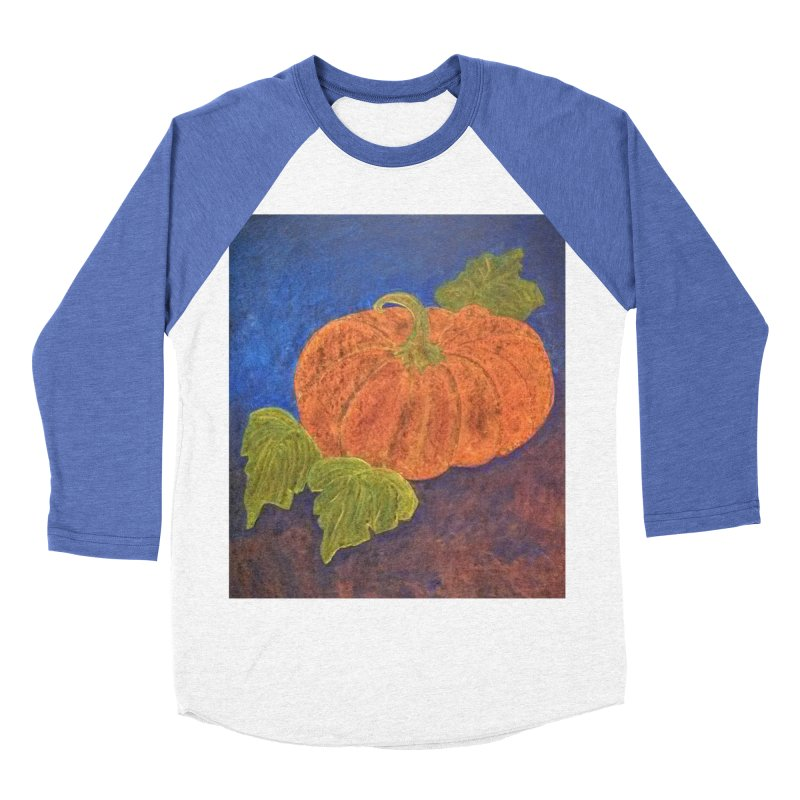 The Cinderella Pumpkin Women's Baseball Triblend T-Shirt by brusling's Artist Shop
