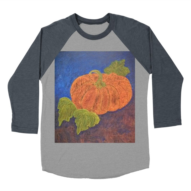 The Cinderella Pumpkin Women's Baseball Triblend T-Shirt by brusling's Artist Shop
