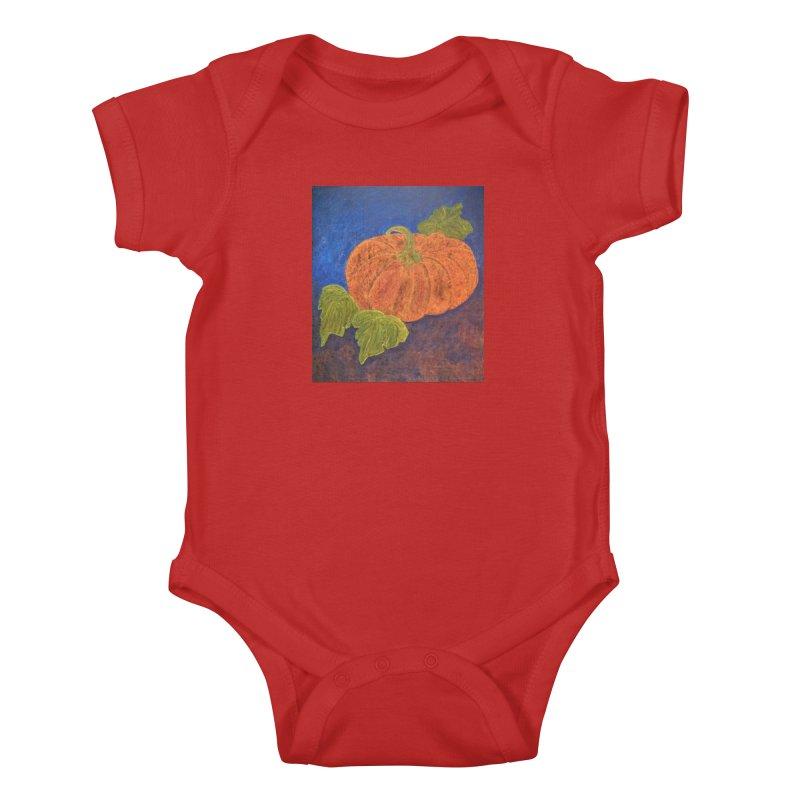 The Cinderella Pumpkin Kids Baby Bodysuit by brusling's Artist Shop