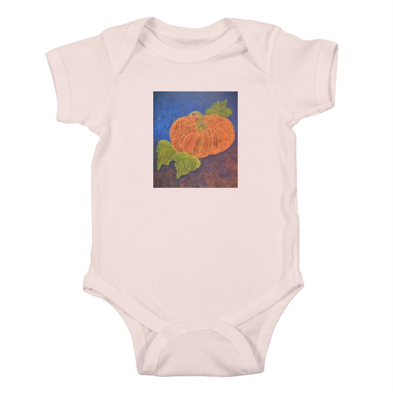 The Cinderella Pumpkin Kids Baby Bodysuit by brusling's Artist Shop