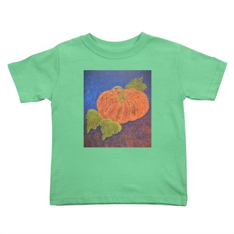 The Cinderella Pumpkin Kids Toddler T-Shirt by brusling's Artist Shop