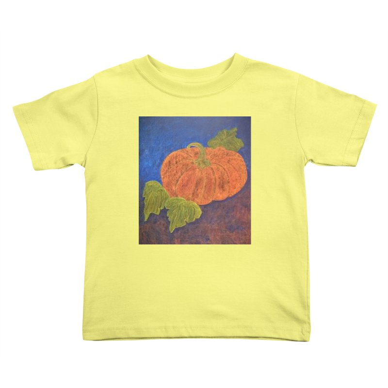 The Cinderella Pumpkin Kids Toddler T-Shirt by brusling's Artist Shop