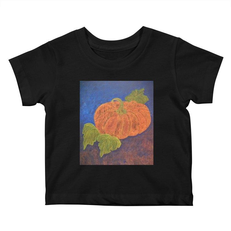 The Cinderella Pumpkin Kids Baby T-Shirt by brusling's Artist Shop