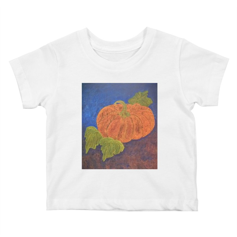 The Cinderella Pumpkin Kids Baby T-Shirt by brusling's Artist Shop