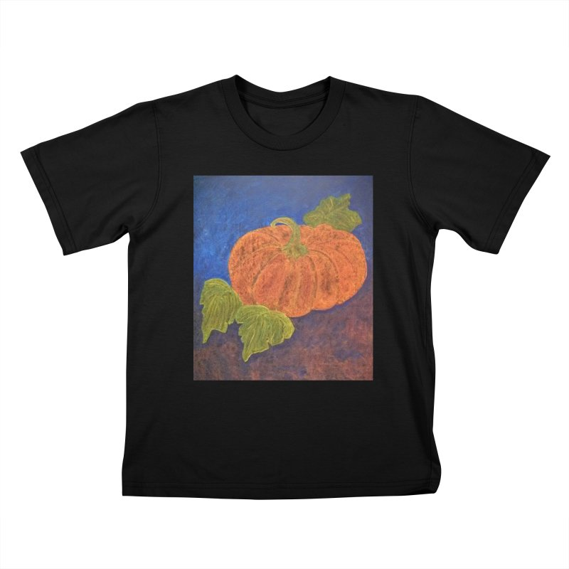 The Cinderella Pumpkin Kids T-shirt by brusling's Artist Shop