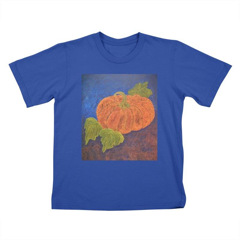The Cinderella Pumpkin Kids T-shirt by brusling's Artist Shop