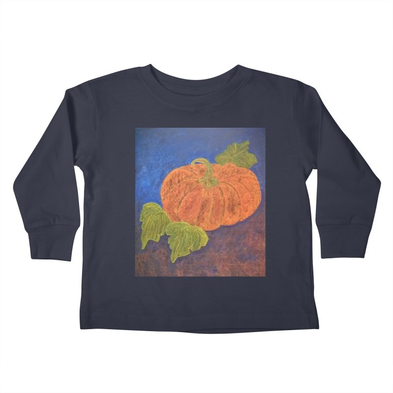The Cinderella Pumpkin Kids Toddler Longsleeve T-Shirt by brusling's Artist Shop