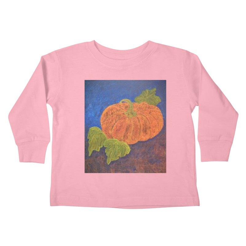 The Cinderella Pumpkin Kids Toddler Longsleeve T-Shirt by brusling's Artist Shop