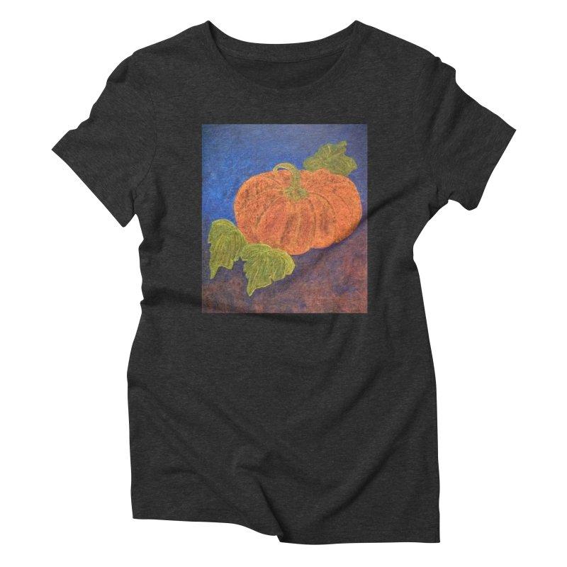 The Cinderella Pumpkin Women's Triblend T-shirt by brusling's Artist Shop