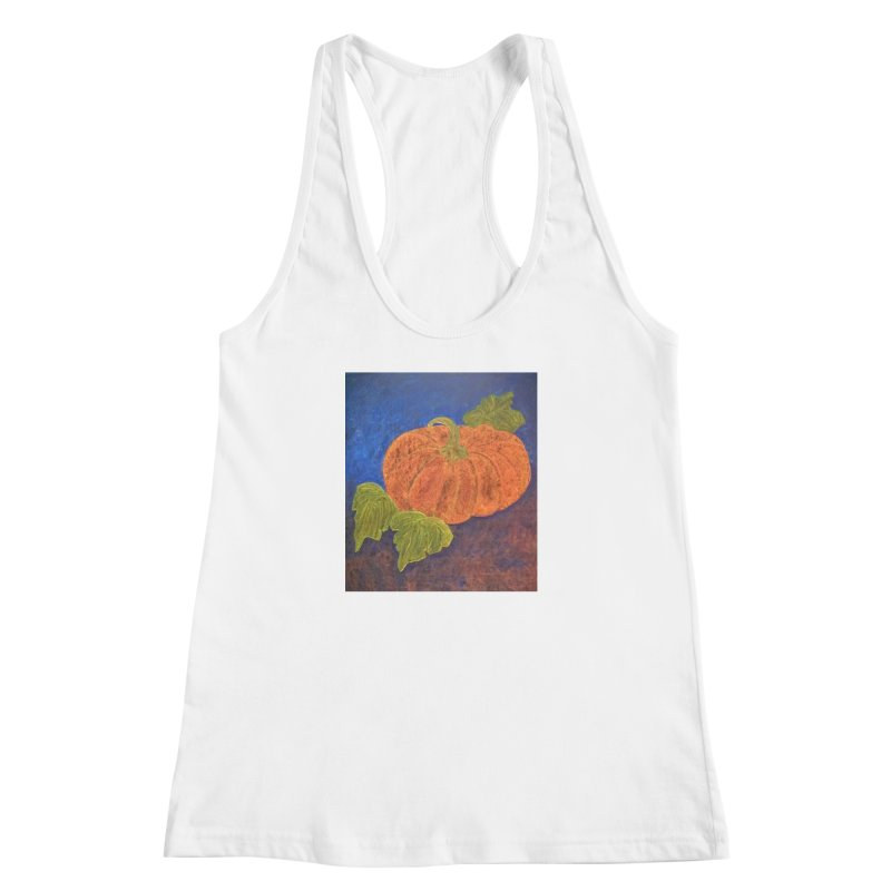 The Cinderella Pumpkin Women's Racerback Tank by brusling's Artist Shop