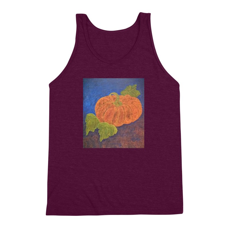 The Cinderella Pumpkin Men's Triblend Tank by brusling's Artist Shop