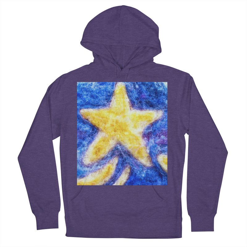 Shooting Star Men's Pullover Hoody by brusling's Artist Shop