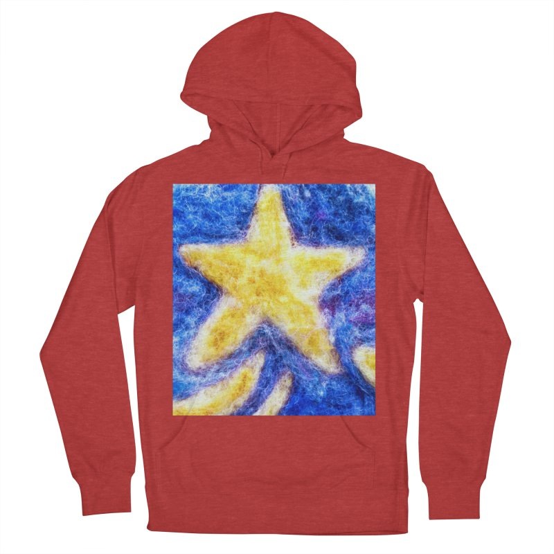 Shooting Star Men's Pullover Hoody by brusling's Artist Shop