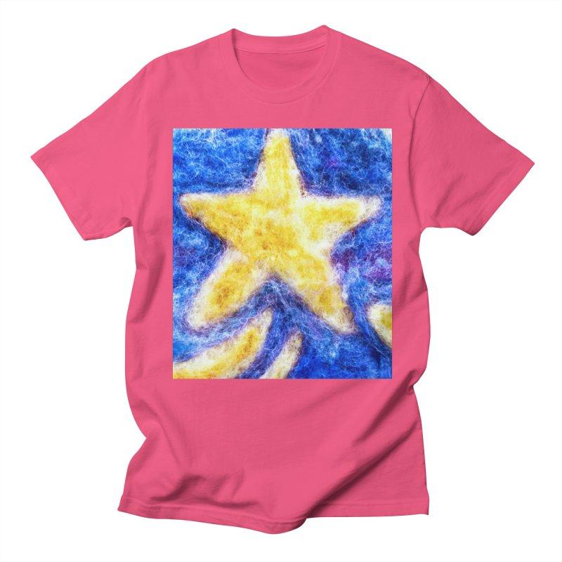 Shooting Star Men's T-shirt by brusling's Artist Shop