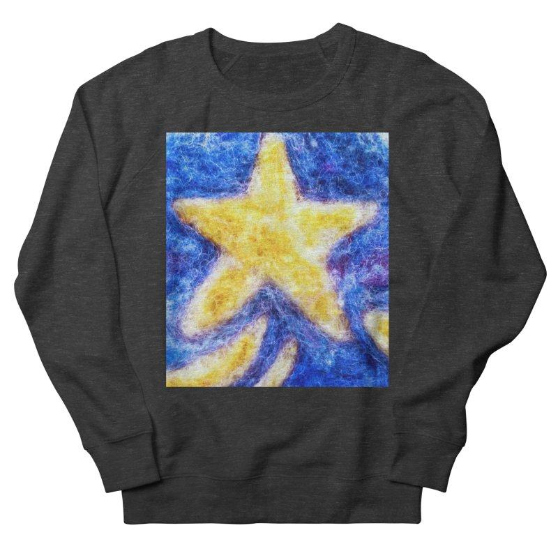 Shooting Star Men's Sweatshirt by brusling's Artist Shop
