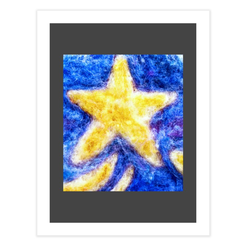Shooting Star Home Fine Art Print by brusling's Artist Shop