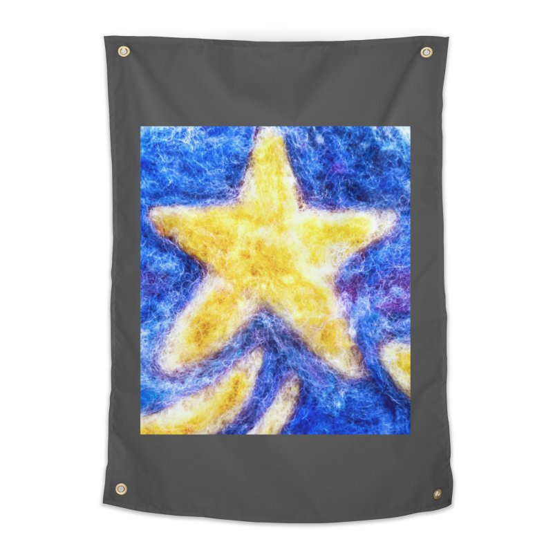 Shooting Star Home Tapestry by brusling's Artist Shop