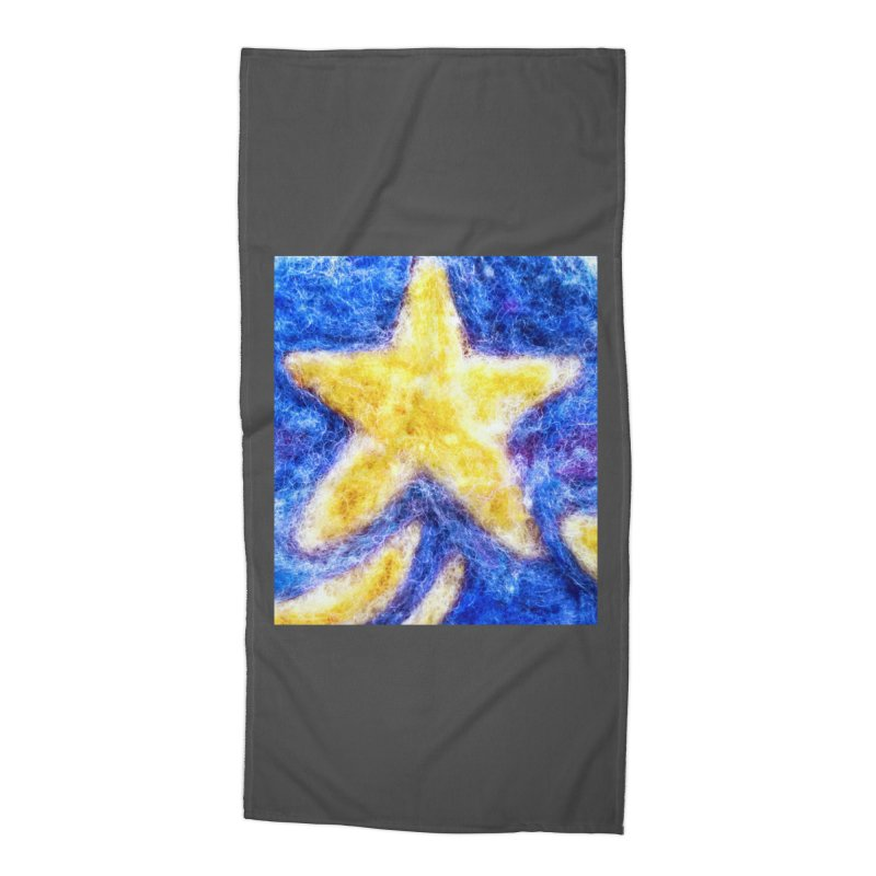 Shooting Star Accessories Beach Towel by brusling's Artist Shop