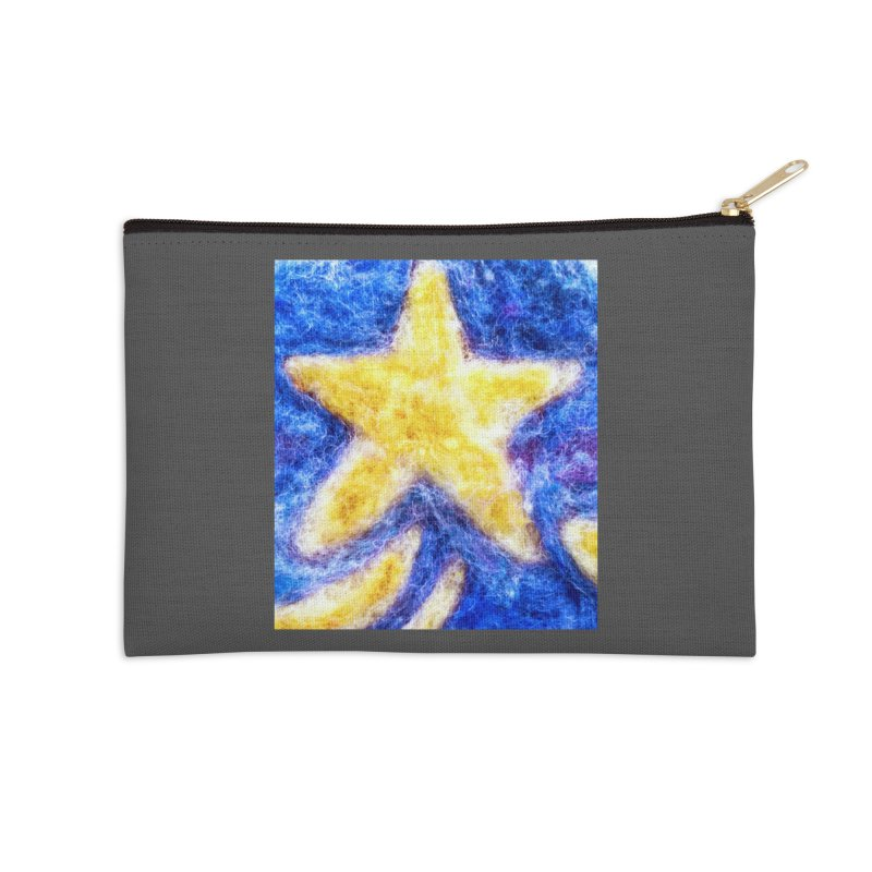 Shooting Star Accessories Zip Pouch by brusling's Artist Shop