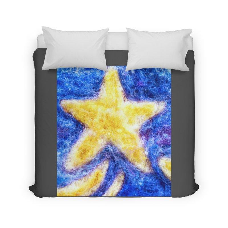 Shooting Star Home Duvet by brusling's Artist Shop