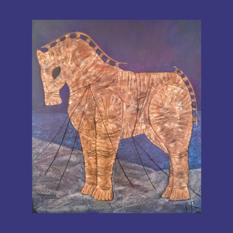 The Trojan Horse None  by brusling's Artist Shop