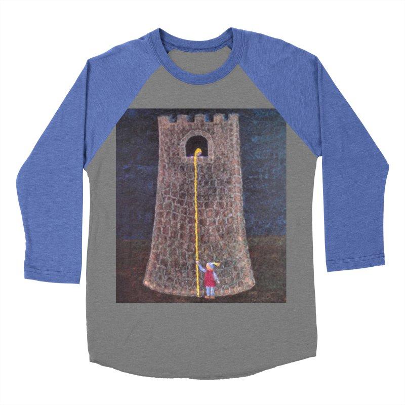 Rapunzel Women's Baseball Triblend T-Shirt by brusling's Artist Shop