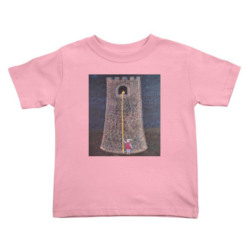 Rapunzel Kids Toddler T-Shirt by brusling's Artist Shop