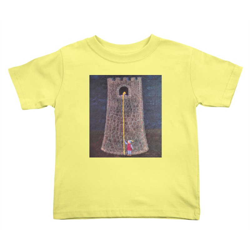 Rapunzel Kids Toddler T-Shirt by brusling's Artist Shop