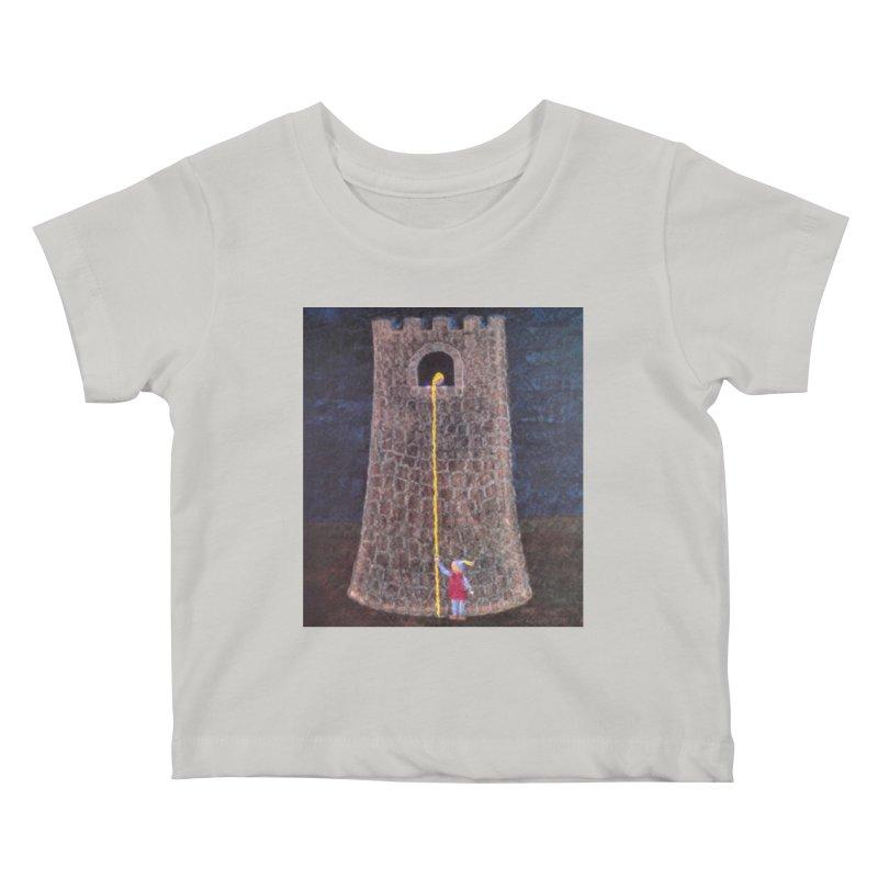Rapunzel Kids Baby T-Shirt by brusling's Artist Shop