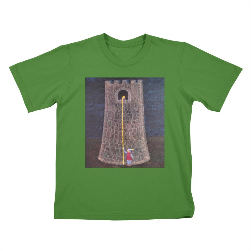 Rapunzel Kids T-shirt by brusling's Artist Shop