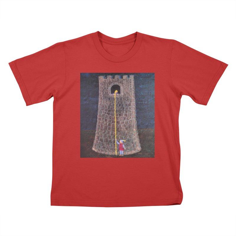 Rapunzel Kids T-Shirt by brusling's Artist Shop