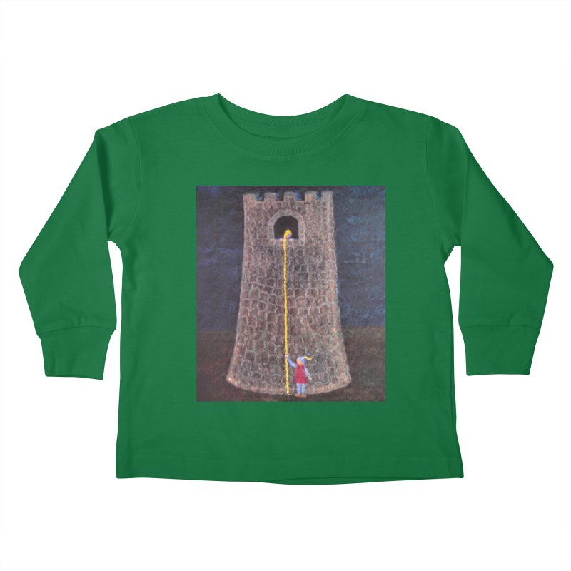 Rapunzel Kids Toddler Longsleeve T-Shirt by brusling's Artist Shop