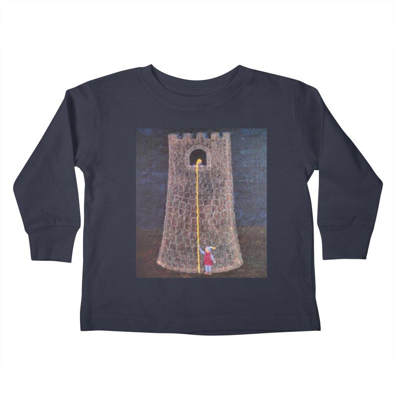 Rapunzel Kids Toddler Longsleeve T-Shirt by brusling's Artist Shop