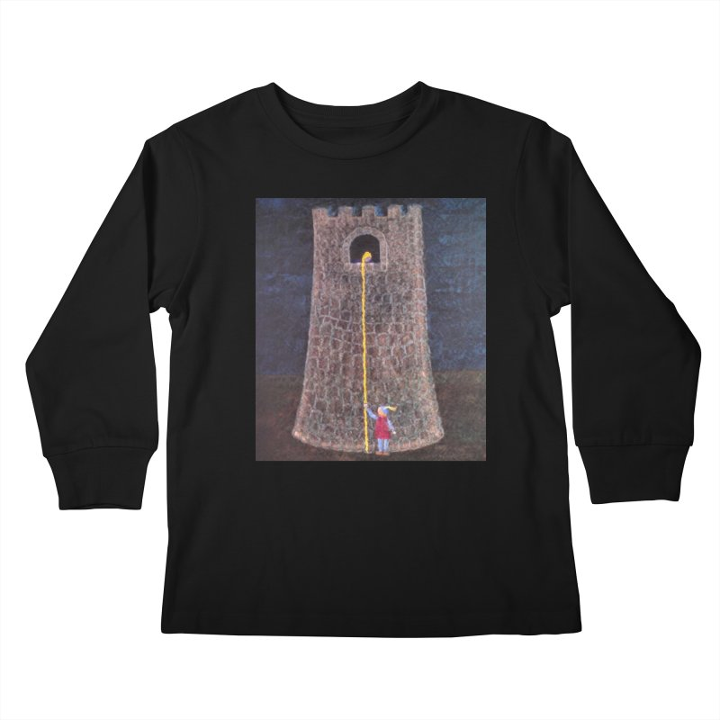 Rapunzel Kids Longsleeve T-Shirt by brusling's Artist Shop