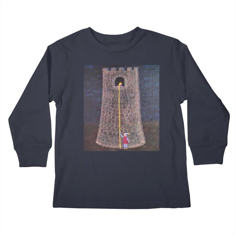 Rapunzel Kids Longsleeve T-Shirt by brusling's Artist Shop