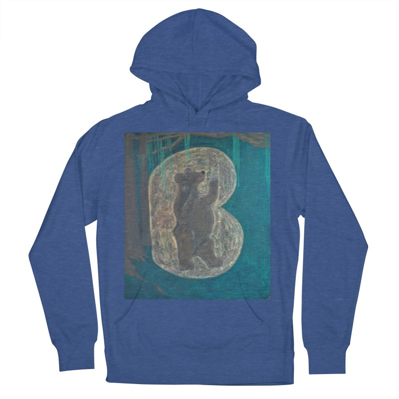 B is for Bear Women's Pullover Hoody by brusling's Artist Shop
