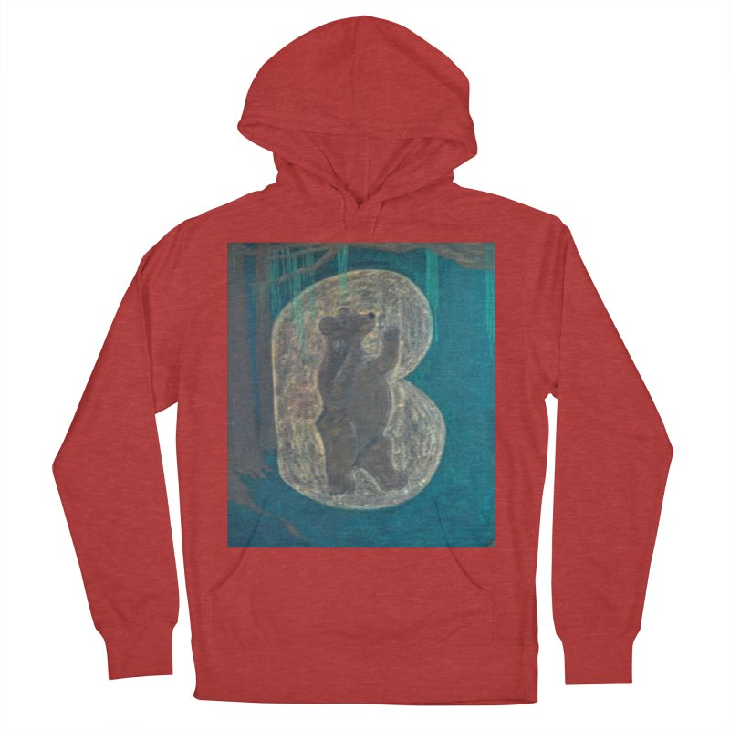 B is for Bear Men's Pullover Hoody by brusling's Artist Shop