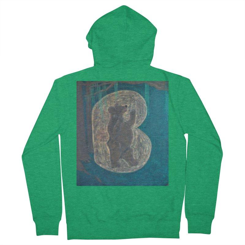 B is for Bear Women's Zip-Up Hoody by brusling's Artist Shop