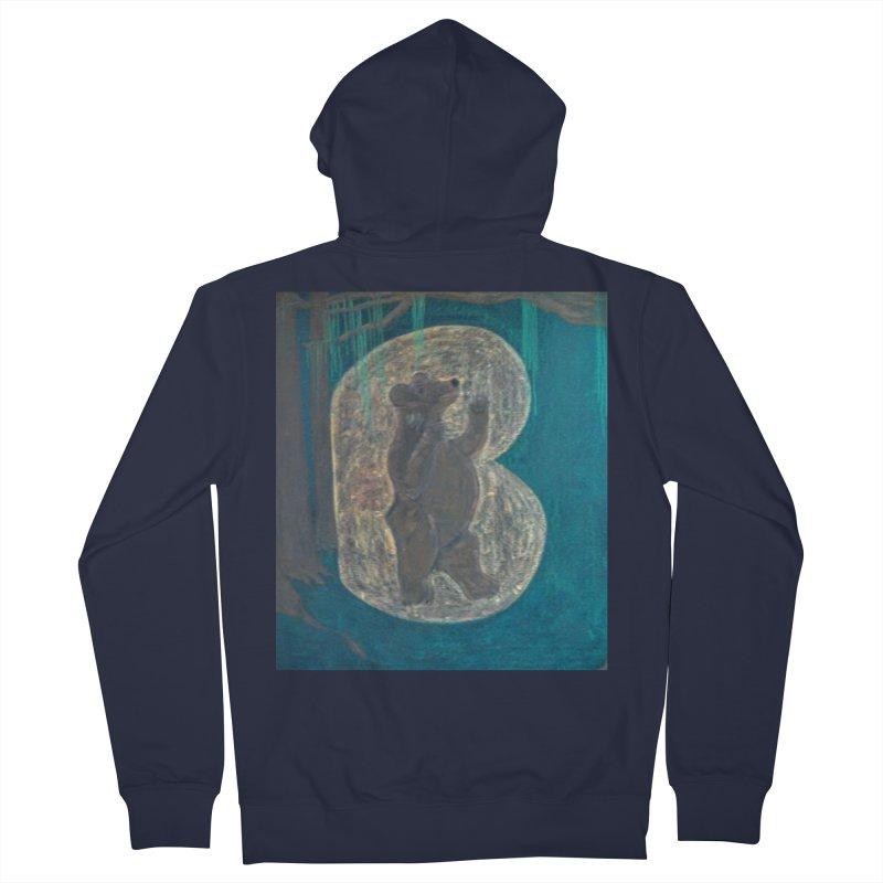 B is for Bear Men's Zip-Up Hoody by brusling's Artist Shop
