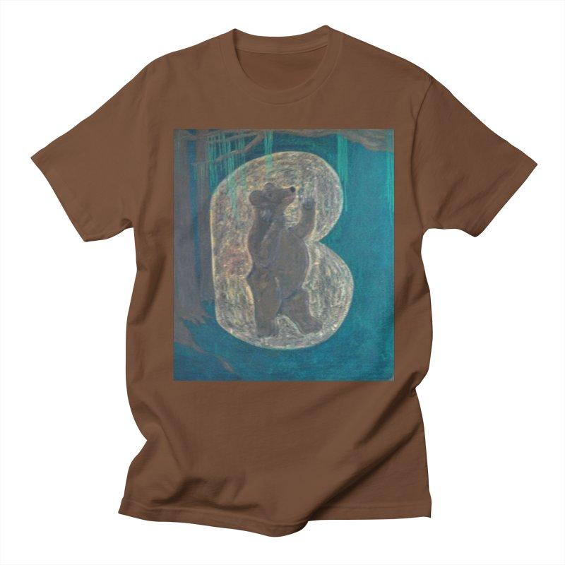 B is for Bear Men's T-Shirt by brusling's Artist Shop