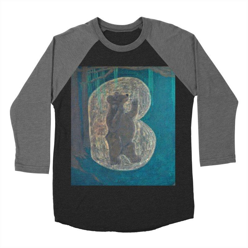 B is for Bear Men's Longsleeve T-Shirt by brusling's Artist Shop