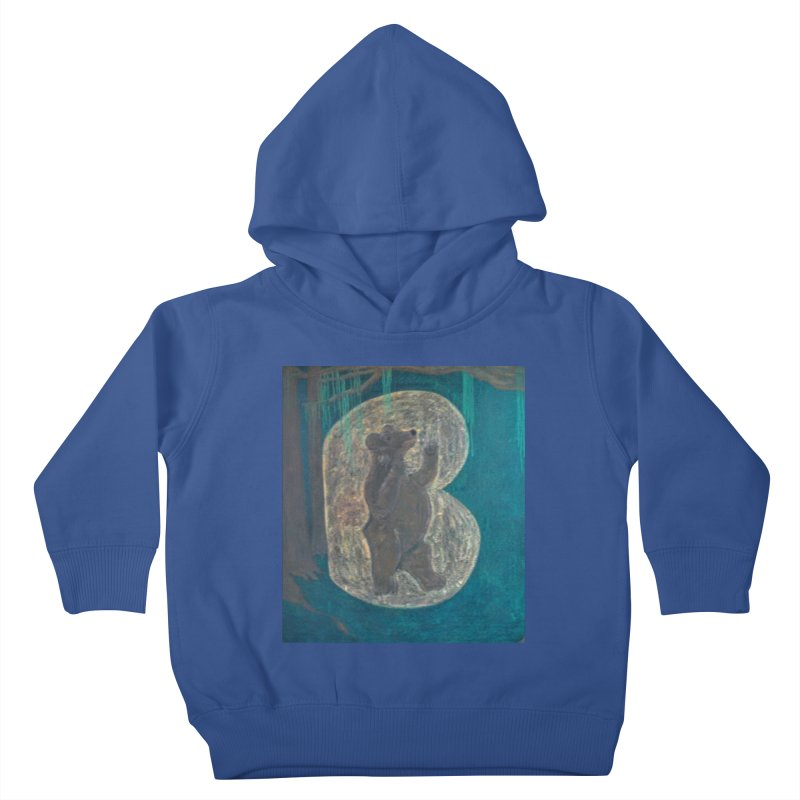 B is for Bear Kids Toddler Pullover Hoody by brusling's Artist Shop