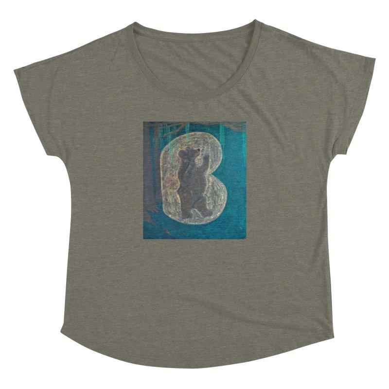 B is for Bear Women's Dolman by brusling's Artist Shop
